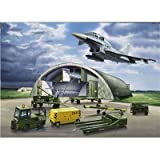 Revell 04376 - Eurofighter, Shelter & Equipment - Ma�stab 1:72