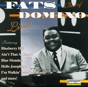 Fats Domino - The Best of Fats Domino Live! - Zortam Music