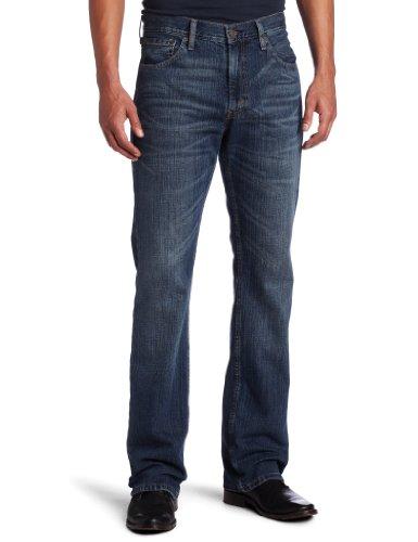 527 slim boot cut jean