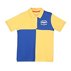 Poppers by Pantaloons Boy's T-Shirt 205000005557727_Mustard_15-16 YRS