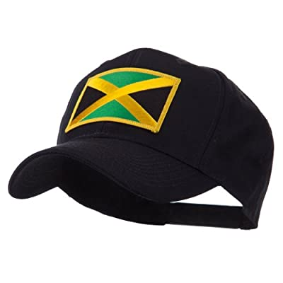 North and South America Flag Embroidered Patch Cap - Jamaica W43S64F
