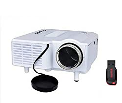 Unic 48 lm LED Corded Portable Projector with 8GB Pendrive