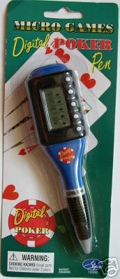 MICRO GAMES DIGITAL POKER PEN
