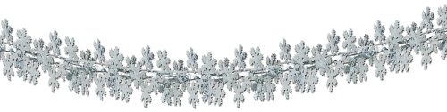 Snowflake Garland/Column Party Accessory (1 count) (1/Pkg)