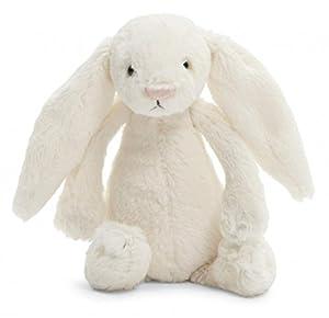 "Jellycat® Bashful Cream Bunny, Medium - 12"""