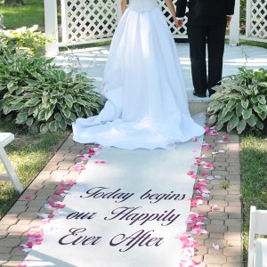 Cathy's Concepts Celebrations Personalized Aisle Wedding Runner