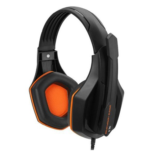 Jeecoo X1 Professional Headband Stereo Gaming Headset Headphones With Microphone For Pc Gamer Orange