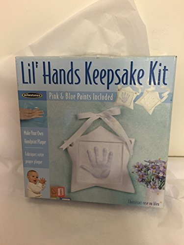 Lil' Hands Keepsake Kit: Make Your Own Handprint Plaque - 1