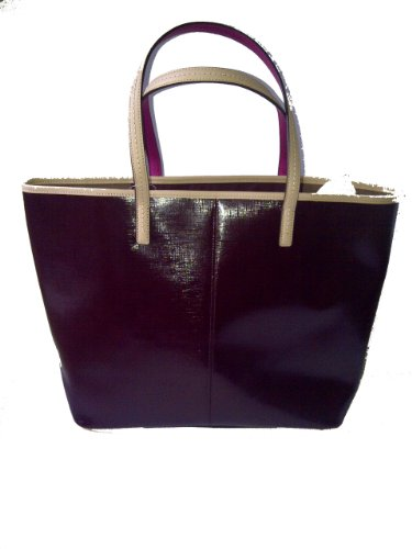 Coach   Coach 25028 Burgundy Park Metro Patent Leather Tote