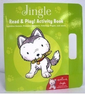 Hallmark Christmas KOB1074 Jingle Read and Play! Activity Book - 1