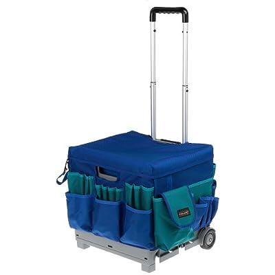 Amazon Com Fiskars 39077097 Craft Crate Rolling Organizer