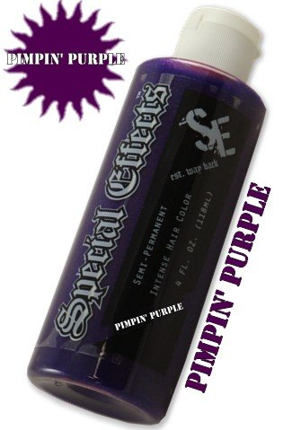 Special Effects Hair Dye -Pimpin' Purple #14 (Nuclear Red Special Effects compare prices)