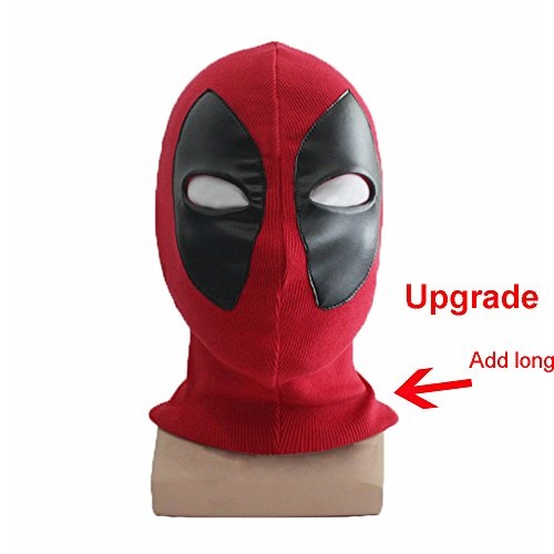 Deadpool Cosplay Headwear Red Halloween Mask