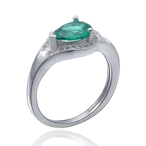 aooaz-sterling-silver-ring-for-women-aaa-cubic-zirconia-ring-teardrop-cz-green-cz-ring-wedding-band-