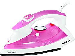 Havells Magnum 2000-Watt Steam Iron (Pink)