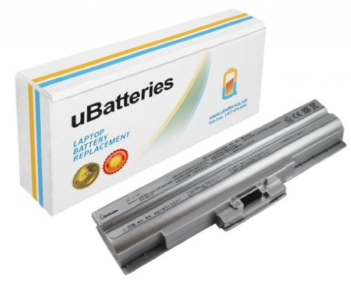 UBatteries Laptop Battery Sony VAIO VGN-BZ11EN - 11.1V, 5200mAh, Samsung 2.6A Cells - UBMax Series (Flatware)