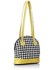3 Mad Chicks Sling Bag (Black And White) (SL112)