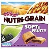 Kellogg's Nutri Grain Soft & Fruity Blackberry & Apple 6 X 37G