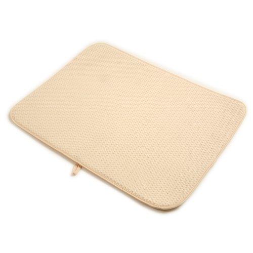 Norpro 18 By 24 Inch Microfiber Dish Drying Mat Cream