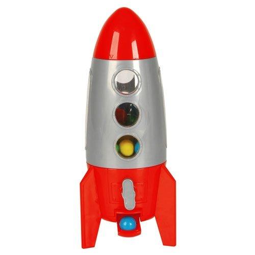 Gumball Machine - Plastic 8.5 inch - Rocket