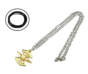 Rope chain with a (seed Destiny) costume accessory accessories cosplay props fan goods, items top scratch resistant Mobile Suit Gundam SEED Union vs.ZAFT ZAFT military emblem mark motif necklace MOBILE SUIT GUNDAM SEED DESTINY ZAFT military [necklace] (japan import)