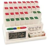 MedCenter Monthly Medication System with Reminder Alarm