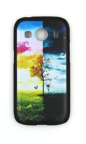 Generic Black Hard Plastic PC Phone Case Cover for Samsung SM-G357M Galaxy Ace Style LTE / Galaxy Ace 4 Case Cover (Galaxy Ace G357m compare prices)