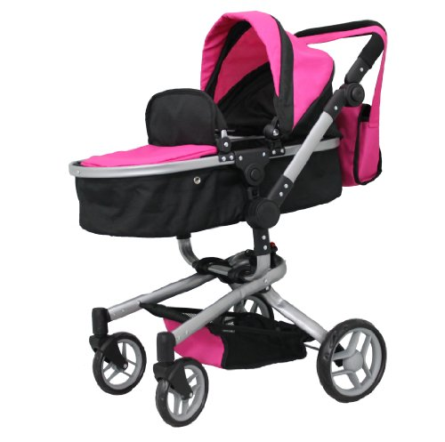 Mommy & me 2 in 1 Deluxe doll stroller EXTRA TALL 32 ...