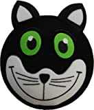 Lucky Black Cat Car Aerial Ball Antenna Topper - ONLY ONE P&P charge per 'AERIALBALLS' order! Save money by buying 2 or more of our many designs.