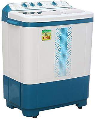Videocon VS72H12 Gracia Plus Semi-automatic Top-loading Washing Machine (7.2 Kg, Breeze Blue)
