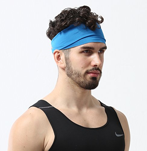 Mens Headband - Guys Sweatband & Sports Headband for Running, Working Out and Dominating Your Competition (Cool Sweat Bands compare prices)