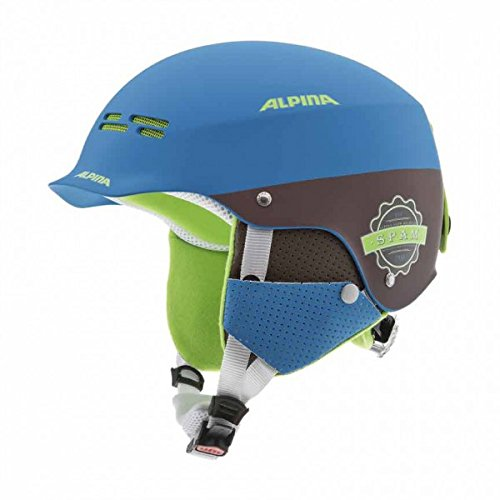 ALPINA Kinder Skihelm Spam Cap