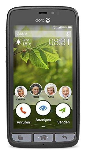 Doro, 8031, Smartphone Sbloccato Senza Contratto, Nero
