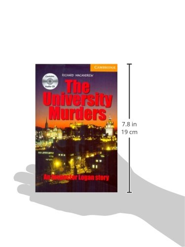 CER4: The University Murders Level 4 Intermediate Book with Audio CDs (3) Pack (Cambridge English Readers)