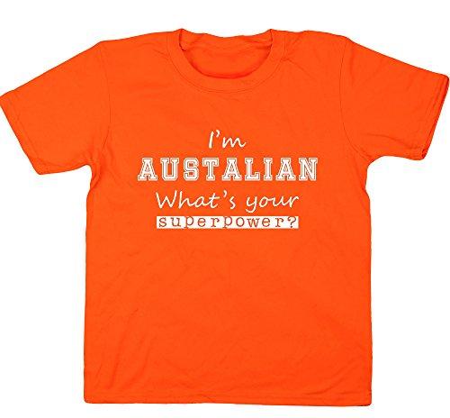 hippowarehouse-madchen-t-shirt-6-jahre-gr-3-4-jahre-orange