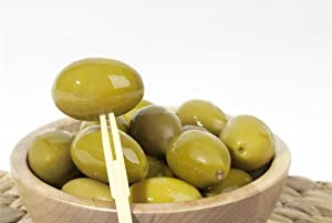 Amazon.com : Large Cerignola Green Olives - Sold by the Pound : Green