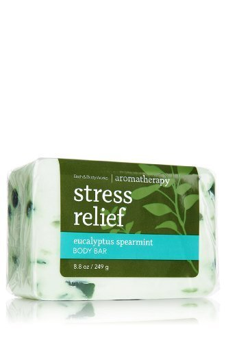Stress Relief Eucalyptus Spearmint Body Bar Soap 8.8oz/249g 8.8 Ounce Bath