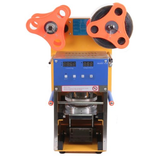 Eteyo 400W Semi Automatic Cup Sealing Machine Bubble Cup Sealer With Led Display Tea Coffee