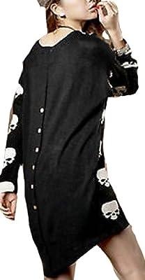 Women Skull Skeleton Beauty Back Design Dress