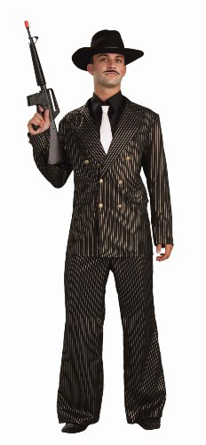 Forum Gangster Gold Costume Suit