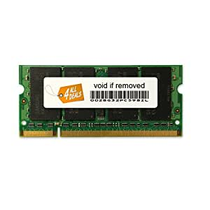 2GB RAM Memory Upgrade for the Toshiba Satellite AA305, M110, P200, P205, U200 and X205 Series Laptops (DDR2-667, PC2-5300, SODIMM)