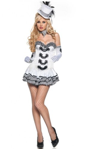 Sexy Kostüm CIGARETTE GIRL Gr. 36/38
