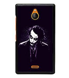 printtech Joker Gotham Back Case Cover for Nokia X2 Dual SIM