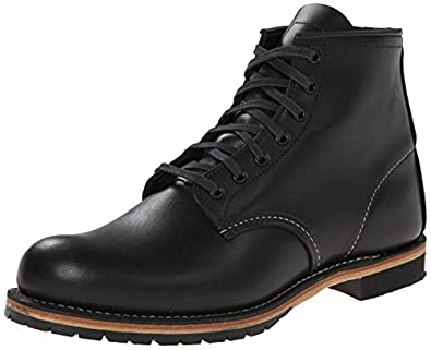 Red Wing Heritage 6-Inch Beckman Round 9014,Black Featherstone,7 D US