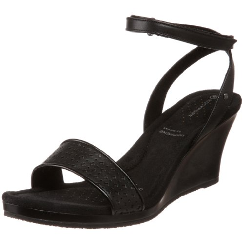 Rockport Women's Emily Ankle Strap Wedge Heel