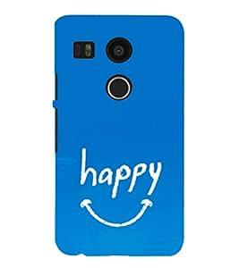EPICCASE Happy case Mobile Back Case Cover For LG Nexus 5x (Designer Case)