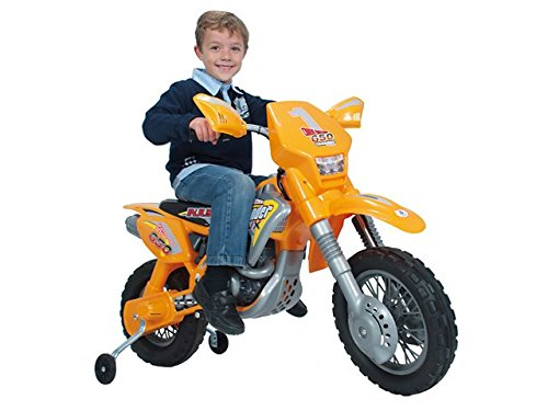 Big Toys Inj-6811 Motocross Thunder Max Vx Motorcycle 12V