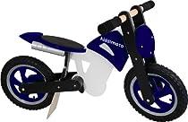 Kiddimoto Scrambler Balance Bike, Blue