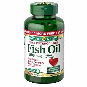 Nature'S Bounty Fish Oil 1000 Mg, Rapid Release Liquid Softgels 135 Each