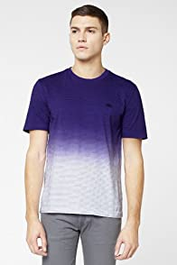 L!VE Short Sleeve Stripe Dip-Dye T-Shirt